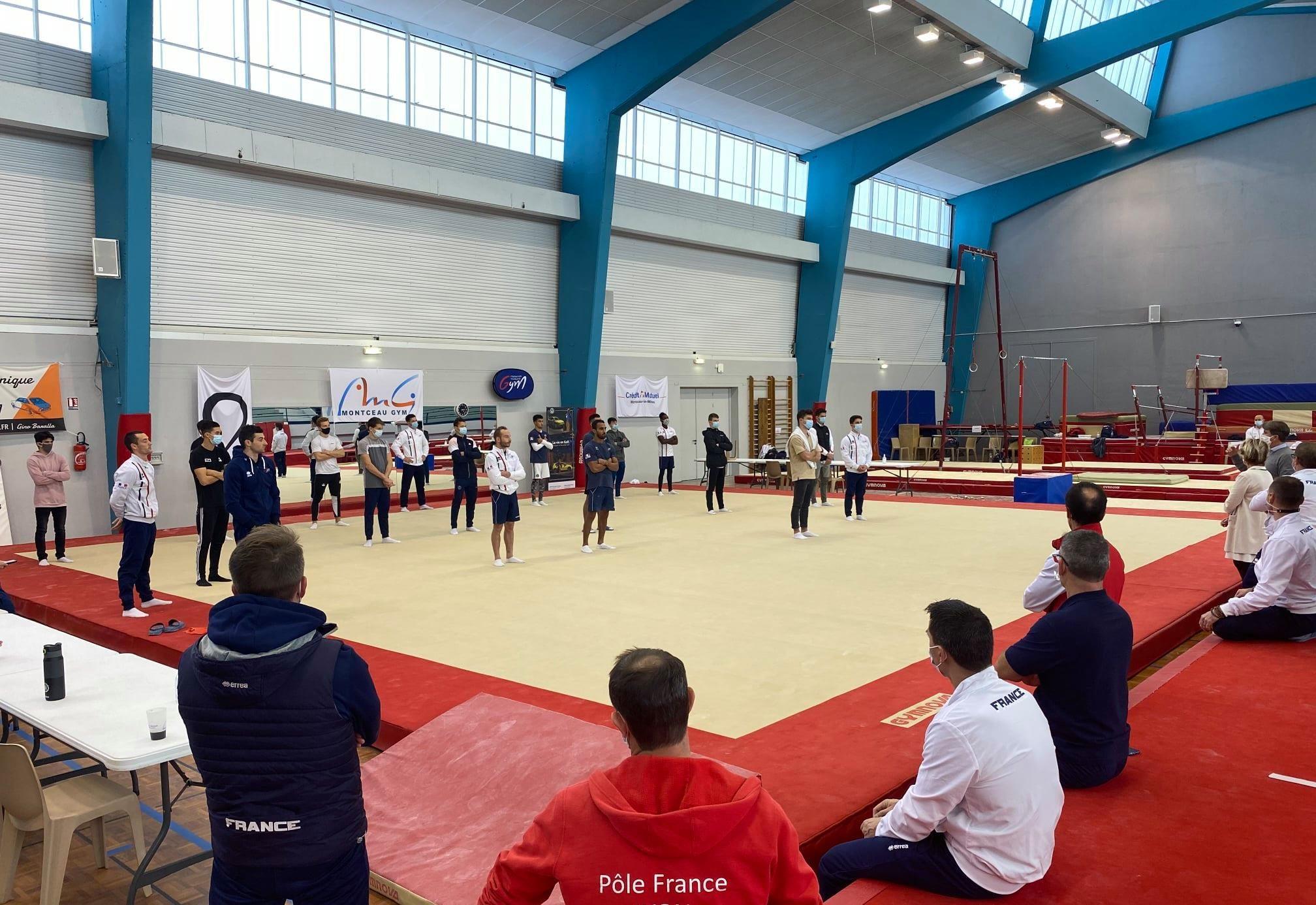 Tests de sélection pour nos 2 juniors membres du collectif France GAM